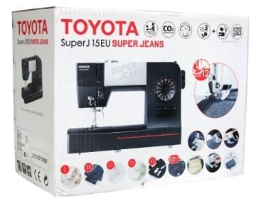 šicí stroj Toyota Super Jeans 15 černá-3