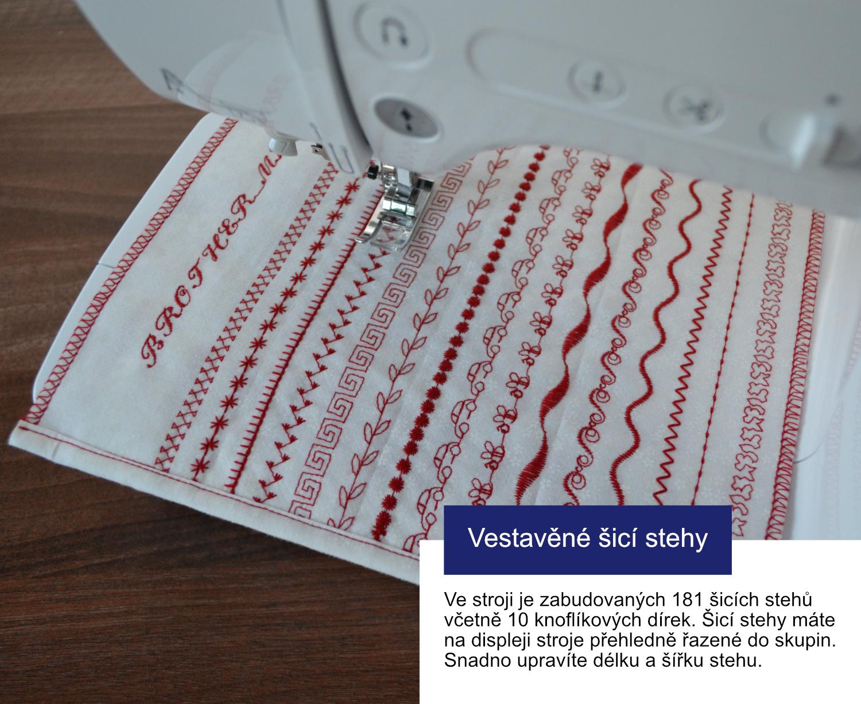 šicí stroj Bernina 380 + dárek + záruka 5let-5