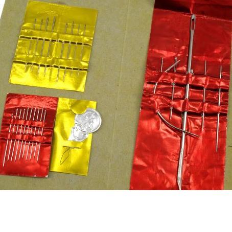 jehly na ruční šití-směs INDIÁN-1