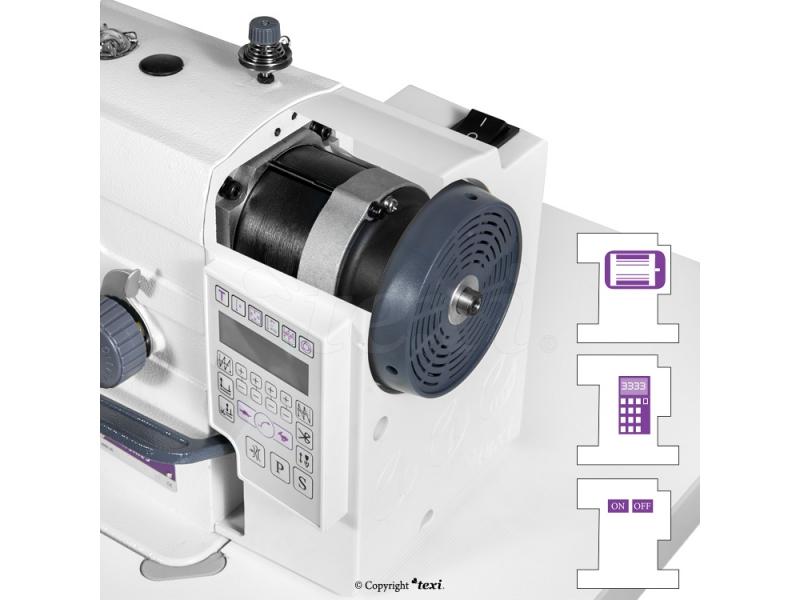 1-jehlový šicí stroj Texi TRONIC 6-3