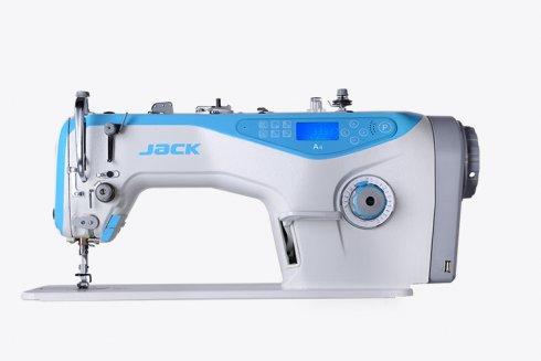Jack A4 1-jehlový šicí stroj s odstřihem, střední materiály