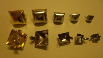 jehlánek pyramida zlato+lak 10x10mm