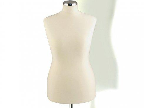 Figurína dámská TINA 306, matná bílá