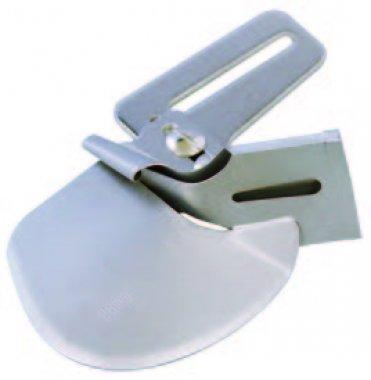 Aplikátor šikmého proužku na jednoducho 40 mm 40 mm: B0421S05A (vstup 40 mm / výstup 12 mm) (Cover Stitch BLCS, Desire, Euphoria, Gloria, Ovation, Sashiko)