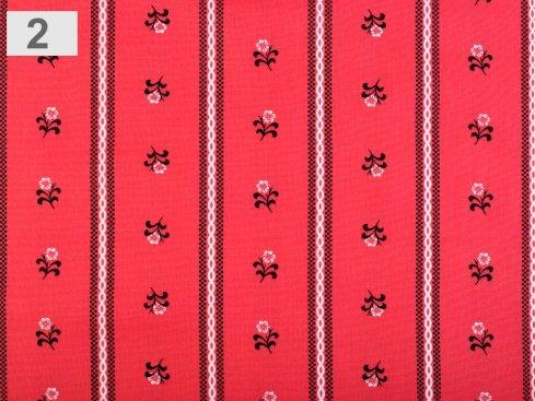 látka květy 100%bavlna,šíře 140cm,110g/m2