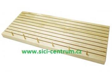 box na pravítka dřevěný - 9drážek