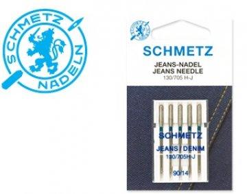 jehla Schmetz 705H/90-5ks Jeans