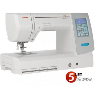 šicí stroj Janome MC 8200 QCP SE  + sada kvalitních jehel Organ ZDARMA