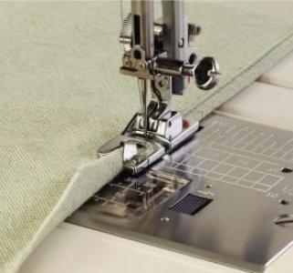 Patka obrubovací - lemovací 6mm (pro stroje s podavačem 9mm)