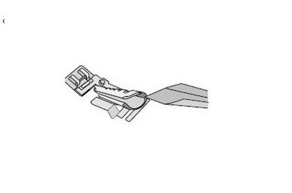 Patka pro našívání šikmého proužku - Pfaff IDT-