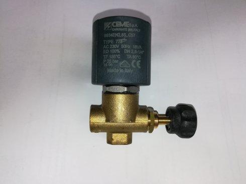 elektromagnetický ventil pro vyvíječe páry Comel Pratika