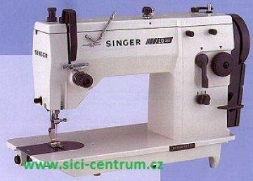 průmyslový stroj Singer 20U cik-cak, komplet s montáží