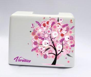 ochranný kufr pro šicí stroje Veronica 100, 200 - strom