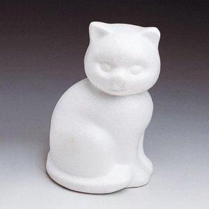 Styropor tvarovky kočka malá 13cm
