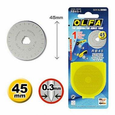 nůž do řezáků 45mm - značkové Olfa 1ks