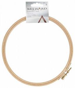 rámeček na vyšívání dřevěný 17cm Milward