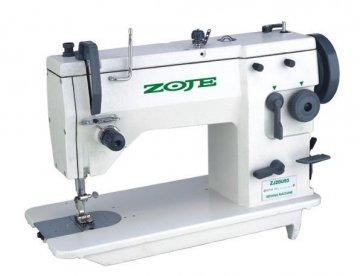 průmyslový stroj ZOJE 20U cik-cak/komplet-smontovaný+servo  motor 250V/600W polohování jehly.