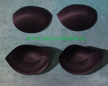 košíčky do šatů PUSH v.36 konfekční černé