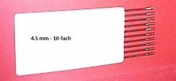 převěšovací háček - 4,5mm 10řad