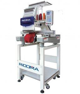 průmyslový vyšívací stroj RCM-0601PT / 6-ti jehlový, tlačítkový panel