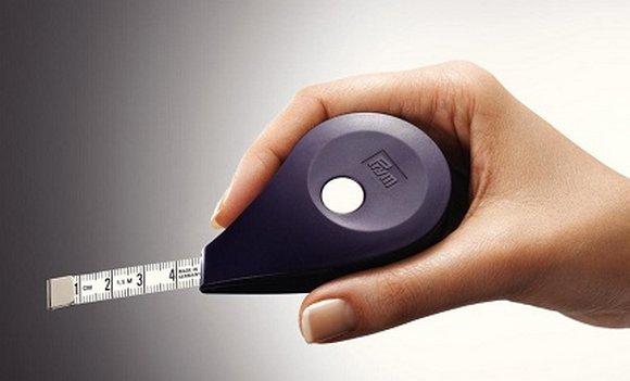 ergonomický metr samonavíjecí 150cm-