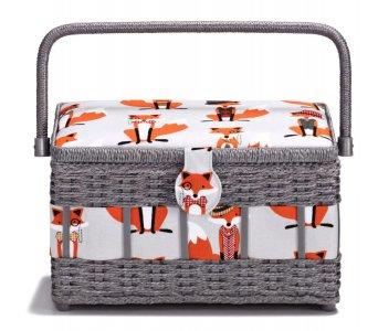 košík - kazeta na šicí potřeby Fox