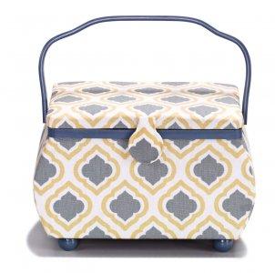 košík - kazeta na šicí potřeby Blue