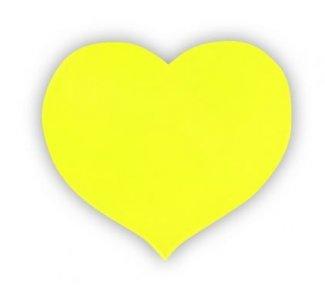 reflexní samolepka srdce 50x60mm/zákaz praní!