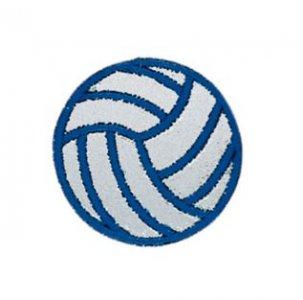 reflexní nažehlovačka modrý míč 38mm