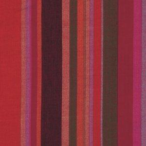 látka roman stripe-wovens-blood oran 100%bavlna             110cm šíře, rowen Stripes by Kaffe Fassett