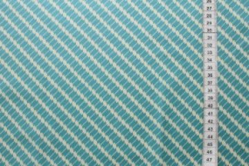 látka hadley-ziggy diagonal-hydrangea 100%bavlna            110cm šíře/rowan