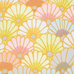 látka fall 2014-thousand flower-chalk 100%bavlna            110cm šíře, rowan