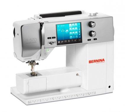 šicí stroj Bernina 570 QE + sada kvalitních jehel Organ ZDARMA