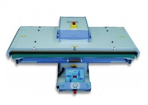 průmyslový žehlící lis PL/T1100 110x40cm - automatické pneumatické ovládání