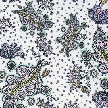 látka  100%bavlna byzantium-paisley-opulent                 110cm šíře/rowan
