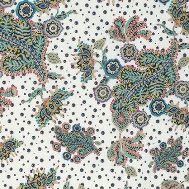 látka  100%bavlna byzantium-paisley-primary                 110cm šíře/rowan
