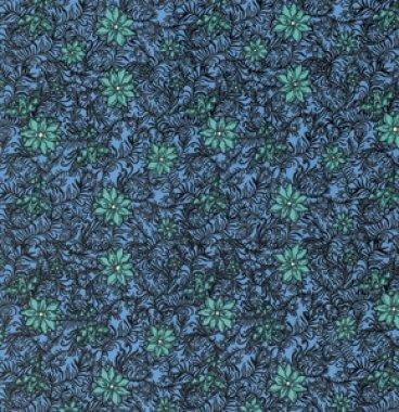 látka  100%bavlna byzantium-silhouette-primary              110cm šíře/rowan