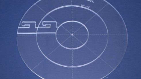 Quiltovací pravítko kruh vel. 2 - NP-K2 - 3 ks
