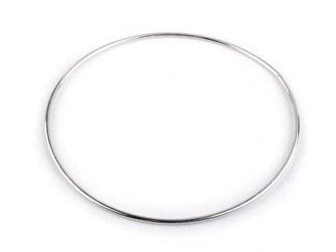 kovový kruh bílý 15cm po lapač snůr