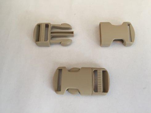 trojzubec 16mm-přezka dělitelná UH béžová