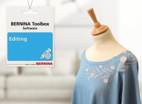 software Bernina Toolbox Editing - editace obrázků
