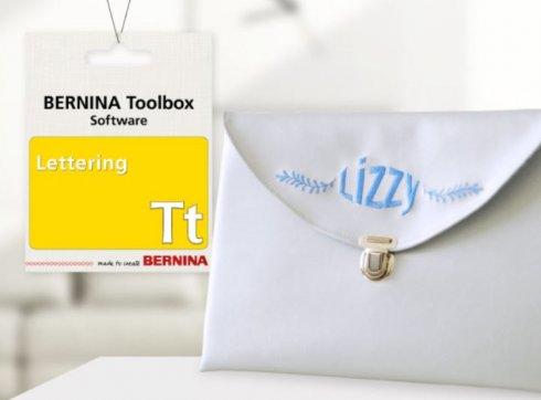 software Bernina Toolbox Lettering Pro - nápisy PRO