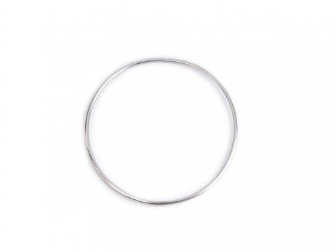 pro lapač snů kovový kruh 12cm nikl