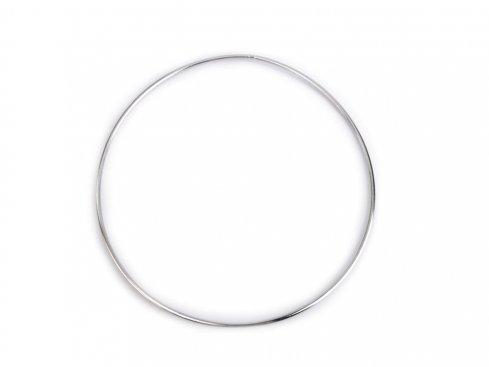 pro lapač snů kovový kruh 18cm nikl