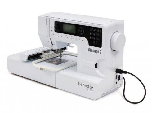 šicí a vyšívací stroj Bernette Chicago 7 předváděcí
