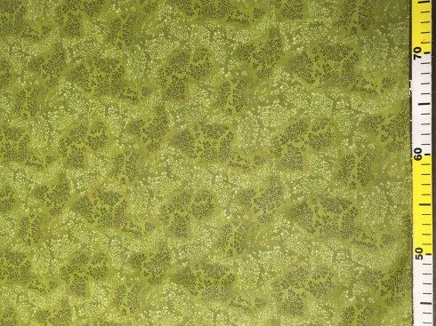 látka 140cm šíře/100%bavlna bylinky khaky