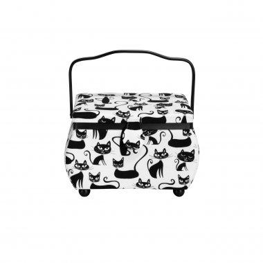 kazeta - košík na šicí potřeby M Cats