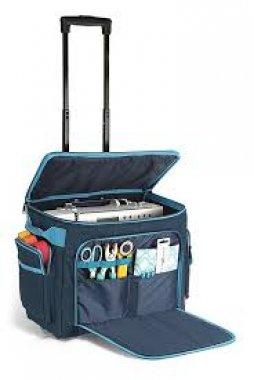 cestovní taška na kolečkách na patchwork 44x22x36cm