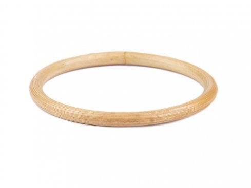 ucha na tašky bambus/lapač snů 12cm 1ks