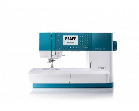 šicí stroj Pfaff Ambition 620 Quilt + záruka 3roky + sada kvalitních jehel Organ ZDARMA